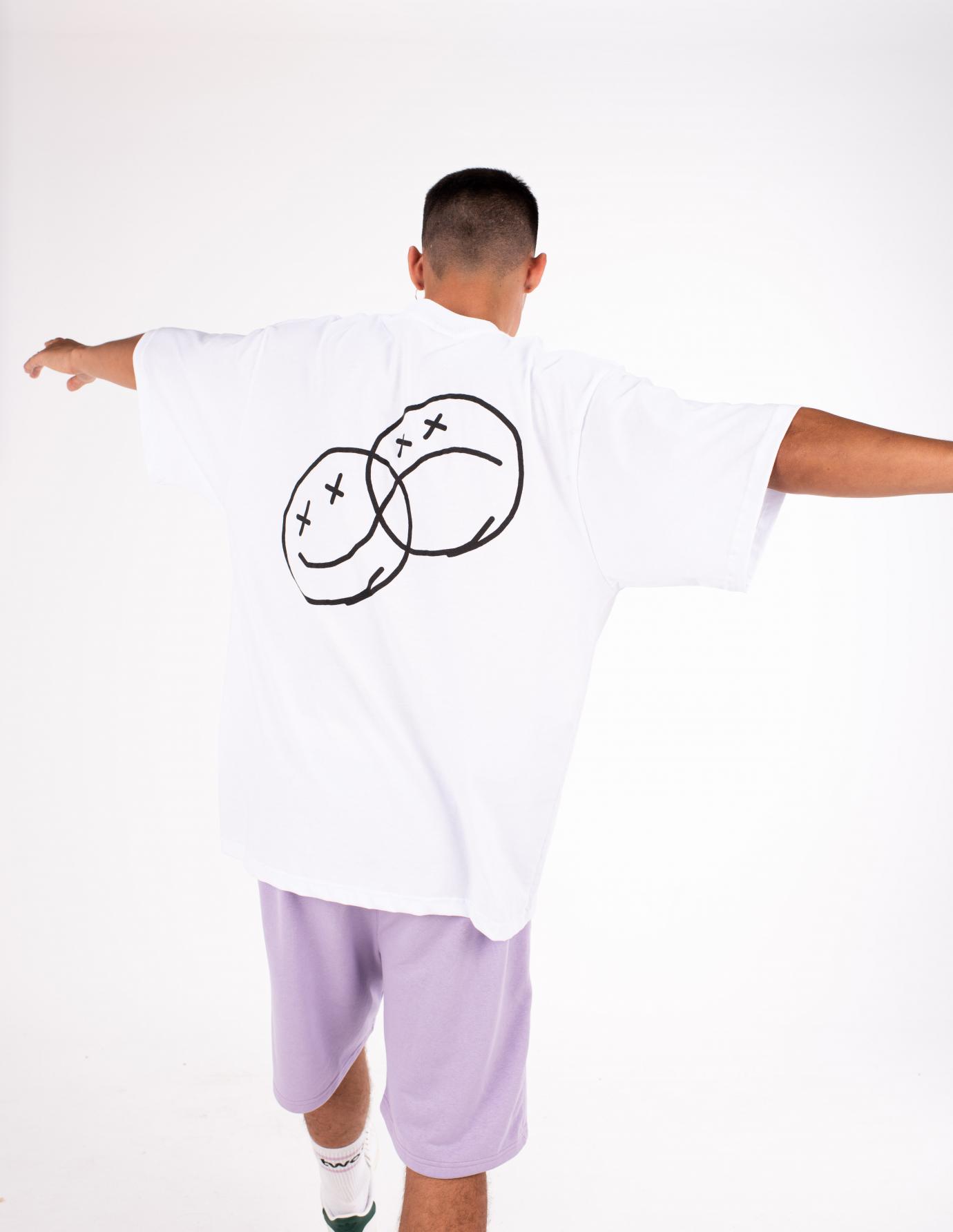 Faces White T-Shirt